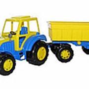 Алтай, трактор с прицепом №1 35332 фото