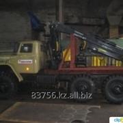 Лесовоз УРАЛ 4320 с манипулятором ОМТЛ-97 ДВС ЯМЗ-238 фото