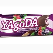 Мороженое лесная ягода в глазури фото