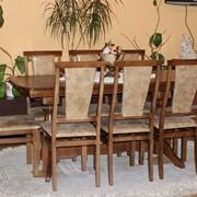 Комплект мебели из натурального дерева Гостинный+Марэк1 от производителя, оптом и в розницу фото