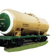 Вагоны грузовые железнодорожные цистерны для непищевых продуктов. Вагон-цистерна для перевозки светлых нефтепродуктов 15-289 фото