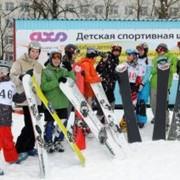 Обучение и тренировки на сноуборде фото