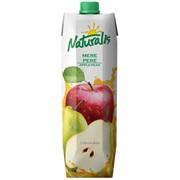 Нектар яблочно - грушевый с мякотью Naturalis фото