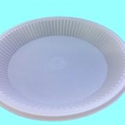 Тарелка одноразовая, диаметр 195мм. фото