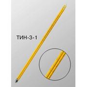 Термометр для определения температуры при испытании нефтепродуктов на застывание и помутнение ТИН-3 фото