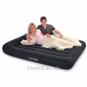 Двухспальный надувной Матрас Intex 66770 - 183 Х 203 Х 23(30)См, черный фото