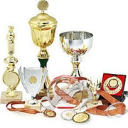 Наградная продукция - кубки, статуэтки, медали, значки фото