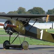 Самолет беспилотный, или пилотируемый, легкомоторный. фото