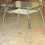 Обеденные столы стеклянные