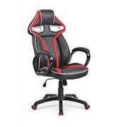 Кресло компьютерное Halmar HONOR (черно-красный) фото