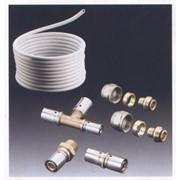 Металлопластиковые трубы и запорная арматура фото