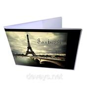 Прикольная обложка для зачётки Париж фото