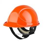 Каска Байкал класса люкс оранжевая фото