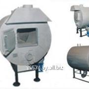 Теплогенератор на твердом топливе ТГ 40 фото