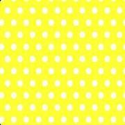 Салфетки цветные Горошек Жёлтый фото