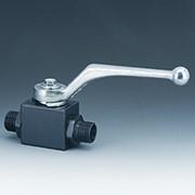 2-ходовой шаровый кран высокого давления в блочном исполнении c метрической наружной резьбой трубного монтажа, уплотнительный конус 24°, Ду от 4 до 38 рабочее давление 320-500 бар фото
