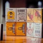 Спички бытовые четвертого формата 2/3 наполнением коробка -36 шт. фото