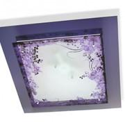 Люстры и бра из стекла и пластика фото