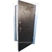 Двери входные из стали MD-4 фото