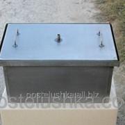 Коптильня для горячего копчения с гидрозатвором большая фото