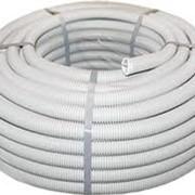 Гофротруба ПВХ для электропроводки фото