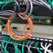 Строительство волоконно-оптических линий связи фото