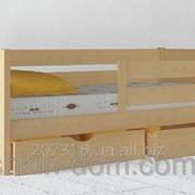 Кровать детская Амели Экстра массив бука фото