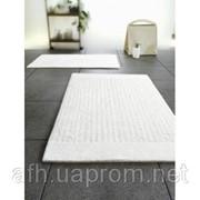 Двухсторонний коврик для туалета хлопковый Spirella 08254 LINEA (55х55см) фото