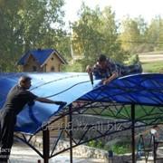 Сотовый поликарбонат цветной 6мм фото