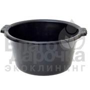 Миска господарська 19л чорна тм полимерагро 87470 фото