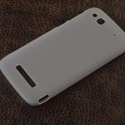 Чехол силиконовый для Alcatel Idol Alpha белый фото