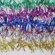 Новогодний дождик Радуга в упаковке 60 шт. фото