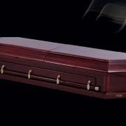 Элитный гроб «Восьмигранник» фото