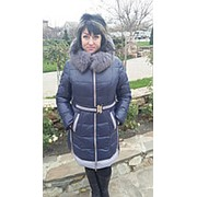 Куртка Велли синяя фото
