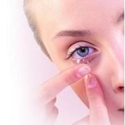 Линзы контактные сферические фото