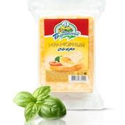 Сыр твёрдый Мраморный фото
