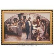 Репродукция картины Брак в Канне Галилейской В.Ю.Графов фото