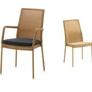 Плетеное кресло для кафе, ресторана Ньюман, Cane-line фото
