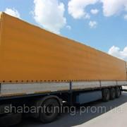 Тенты автомобильные для грузовых автомобилей фото
