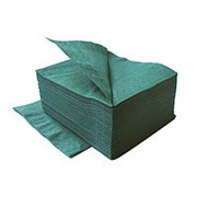 Салфетки LIME 24*24 тёмно-зеленые, 2-сл, 250шт фото