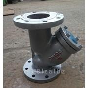 Фильтр сетчатый фланцевый чугунный GL41H-16 (РУ-16), Ду 32 мм, Масса 5,4 кг, Длинна 180 мм фото