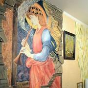 Декоративная отделка стен фото