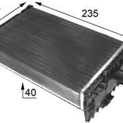 Радиатор печки VW T4 / Transporter IV (1990-2003) - D6W006TT / NIS 73974 (701819032) фото