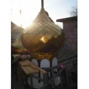 Купол шашкой с барабаном фото