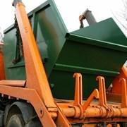Вывоз мусора с участка (самосвал, контейнер 8 м3) фото