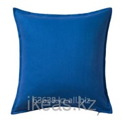 Чехол на подушку, синий ГУРЛИ фото