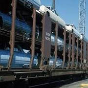 Перевозка автомобилей железнодорожным транспортом фото