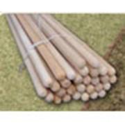 Черенки деревянные для граблей, сапок, швабр, киянок, молотков фото