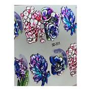 Anna Tkacheva, 3D-слайдер Crystal №311 «Цветы. Цветочки» фото