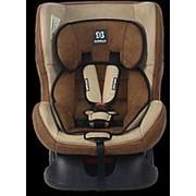 FARFELLO Автокресло детское Farfello GE-B велюр коричнево-бежевое(brown+beige) фото